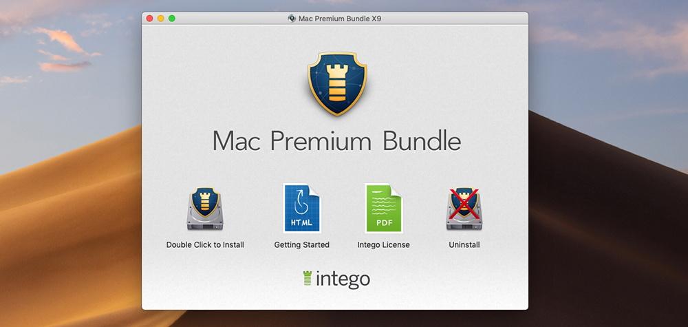 Mac Premium Bundle X9 - Installation Wizard