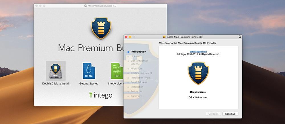 Mac Premium Bundle X9 - Installation
