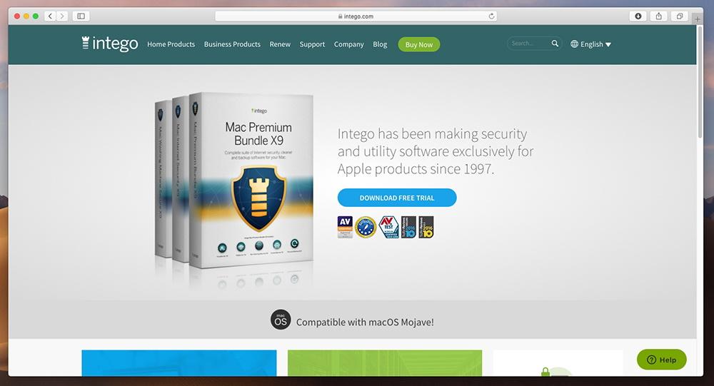 Mac Premium Bundle X9 - Intego Website