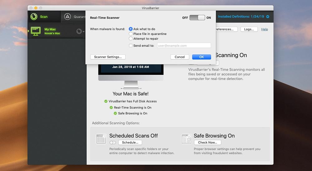 Mac Premium Bundle X9 - Real-Time Scanner