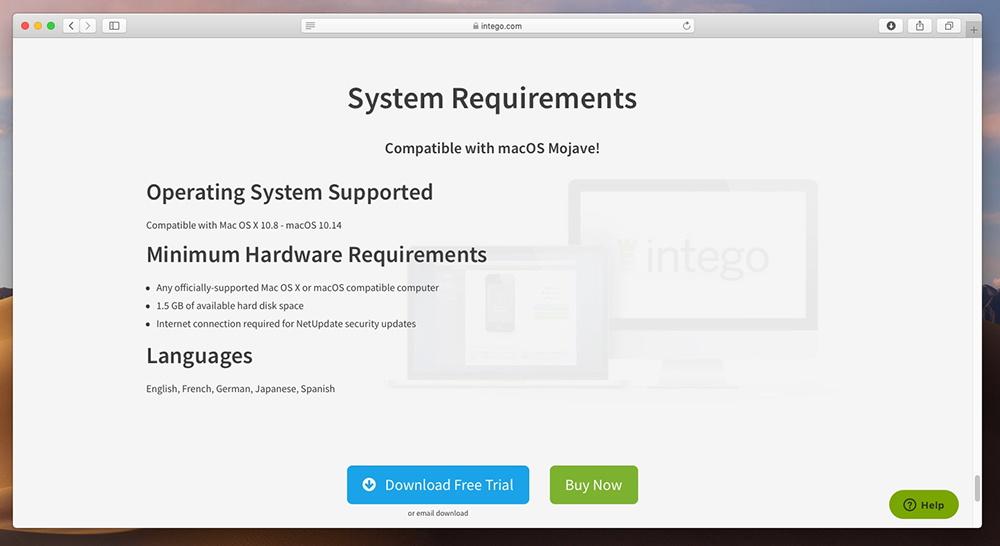 Mac Premium Bundle X9 - Supported Platforms