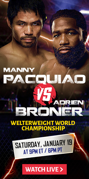 Manny Pacquiao vs. Adrien Broner