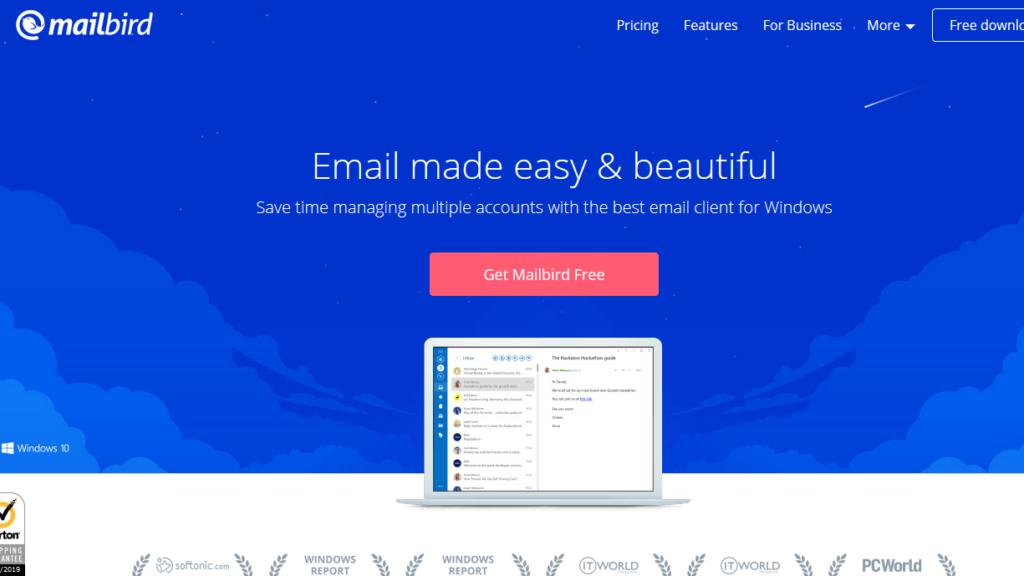 Outlook Alternatives-Mailbird