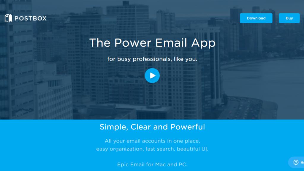 Outlook Alternatives-Postbox