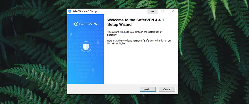 SaferVPN Review - Installation