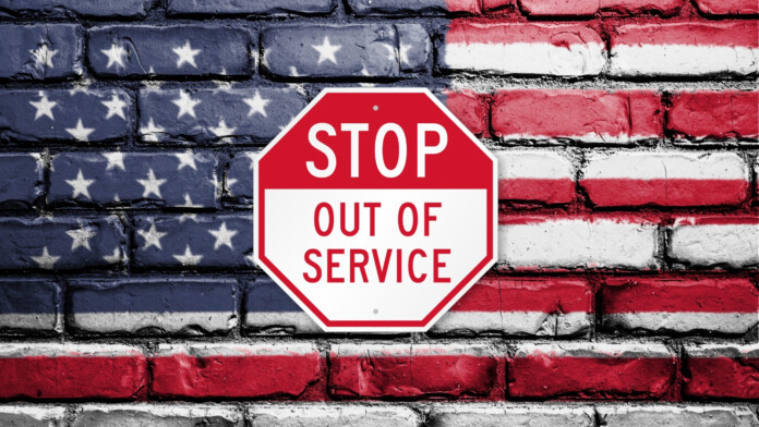 USA out of service