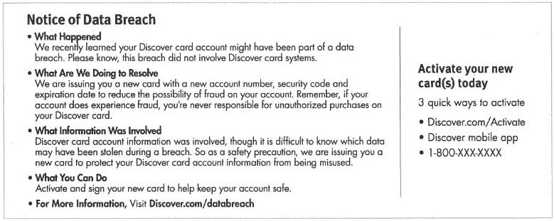 discover data breach notice