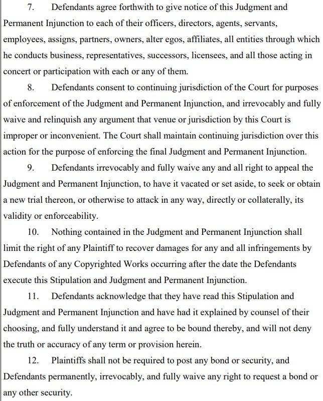 dragon box injunction