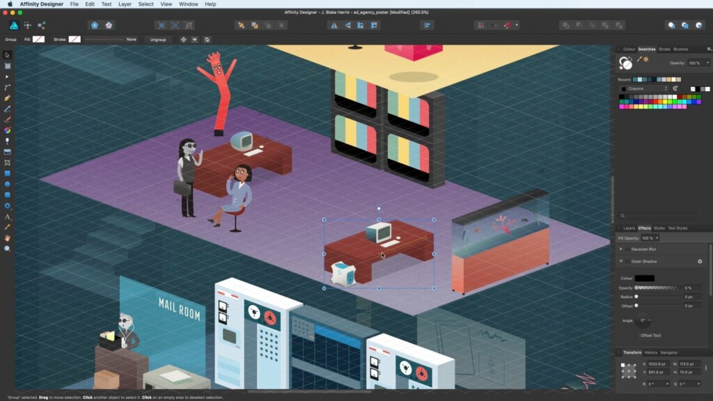 Adobe Illustrator Alternatives - Affinity Designer