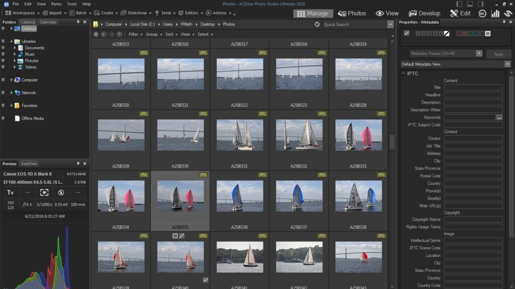 Adobe Lightroom Alternatives - ACDSee Photo Studio