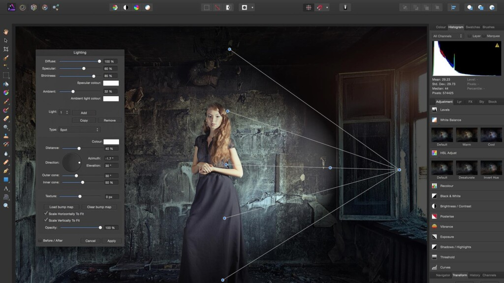 Adobe Lightroom Alternatives - Affinity Photo