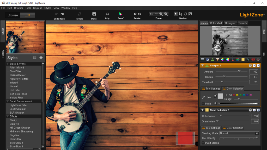Adobe Lightroom Alternatives - LightZone