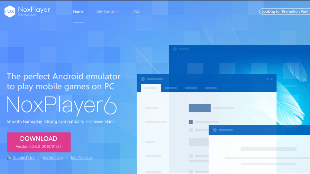 nox player 6 download for pc windows 7 64 bit