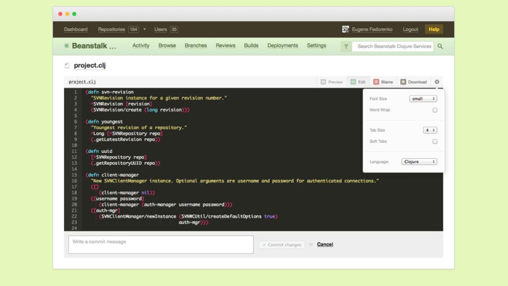 GitHub Alternatives - Beanstalk