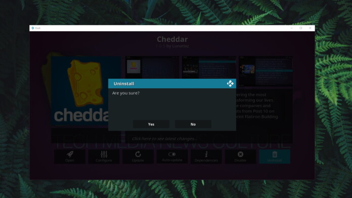 How to Uninstall Kodi Addons