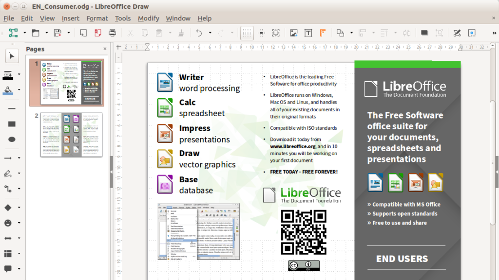 Microsoft Alternatives - LibreOffice Writer
