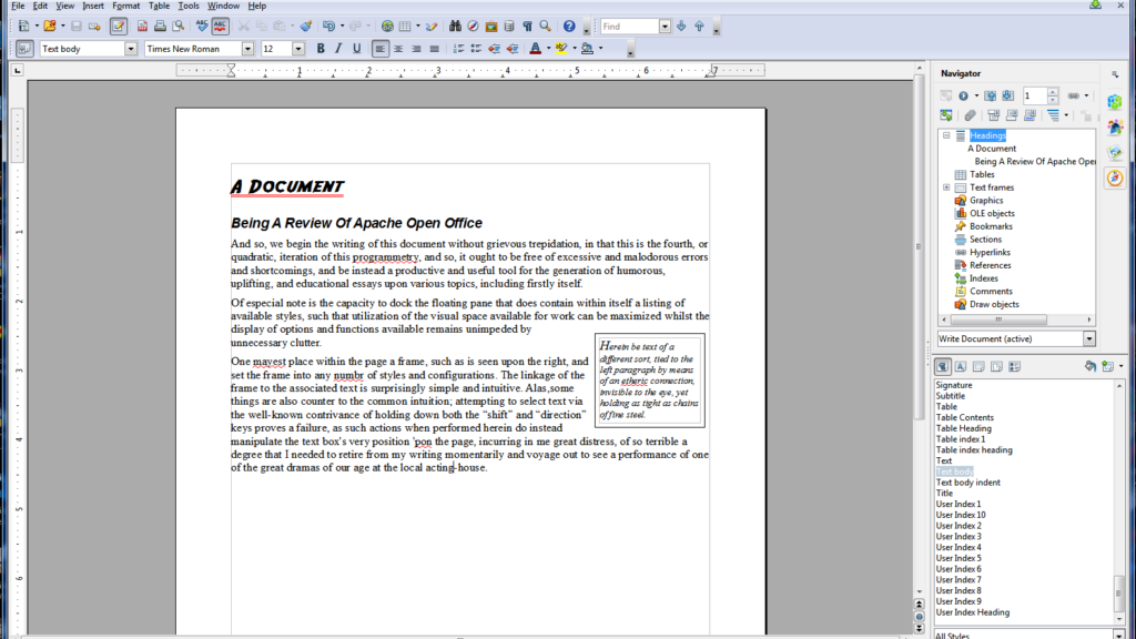 Microsoft Office Alternatives - Apache OpenOffice