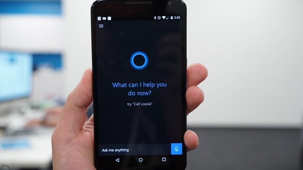 Siri Alternatives for Android - Cortana