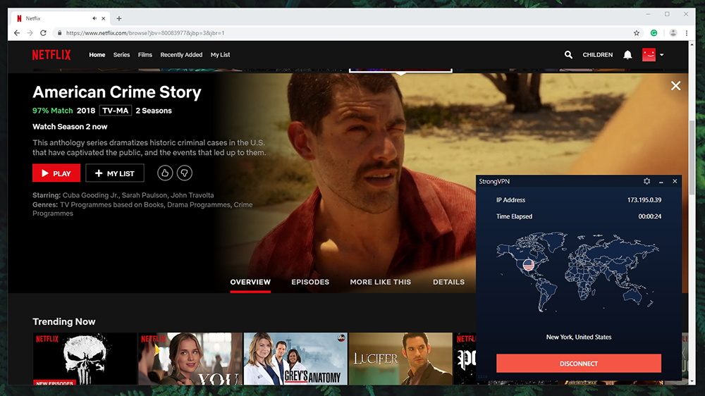 StrongVPN Review - Netflix Streaming