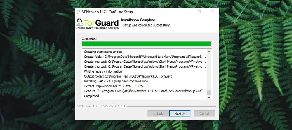 TorGuard Review - TorGuard Setup