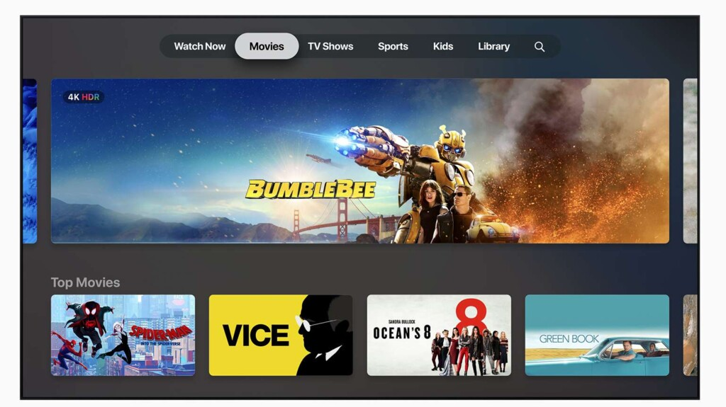 Apple TV+ movies