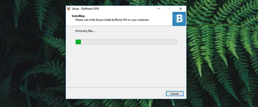 Buffered VPN Installation Process