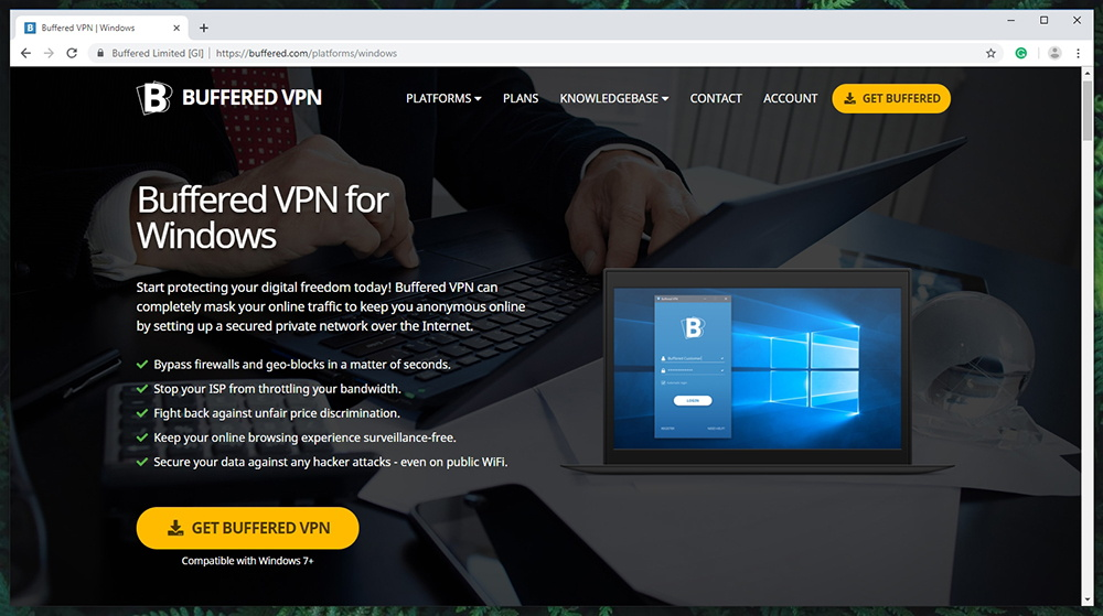 Buffered VPN Supported Platforms