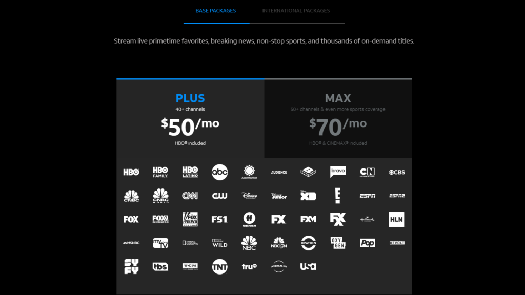 DirecTV Now Plus