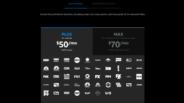 DirecTV Now Plus