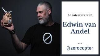 Edwin Van Andel CEO Zerocopter