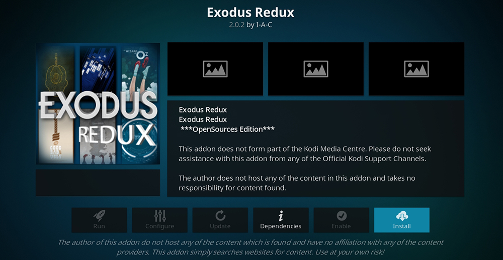 exodus on fire tv not working