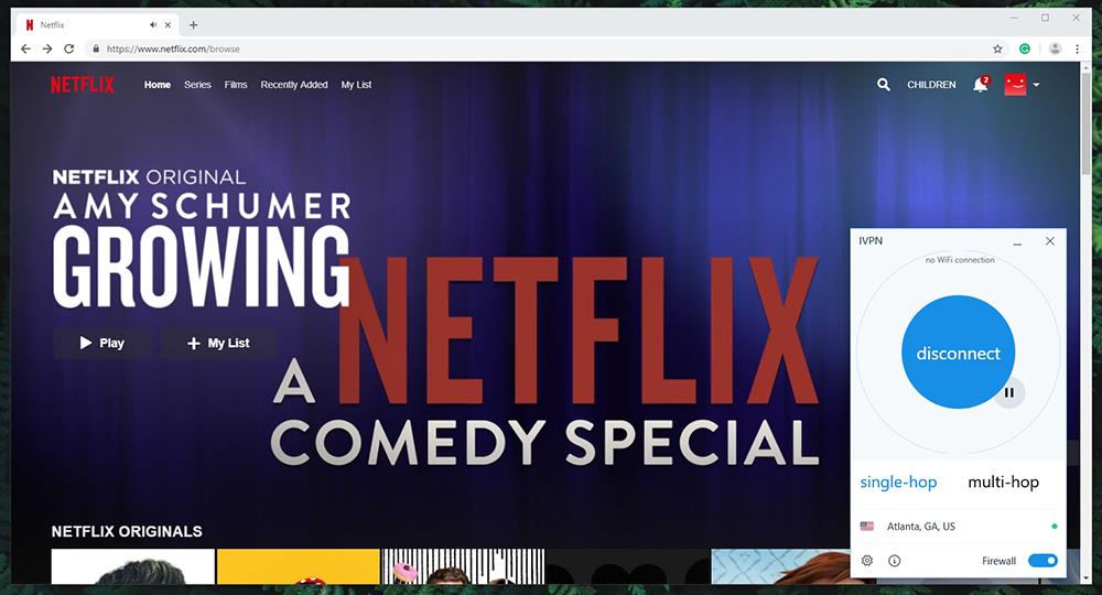 IVPN Netflix