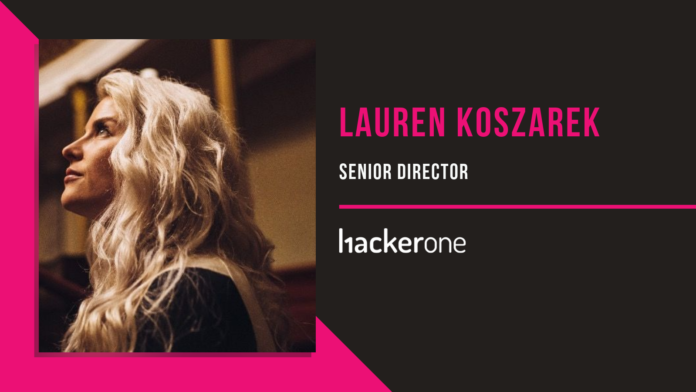 Lauren Koszarek, HackerOne: People's Perception of Hackers Is Changing
