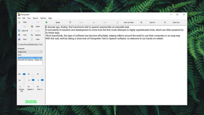 Panopreter Text To Speech Review