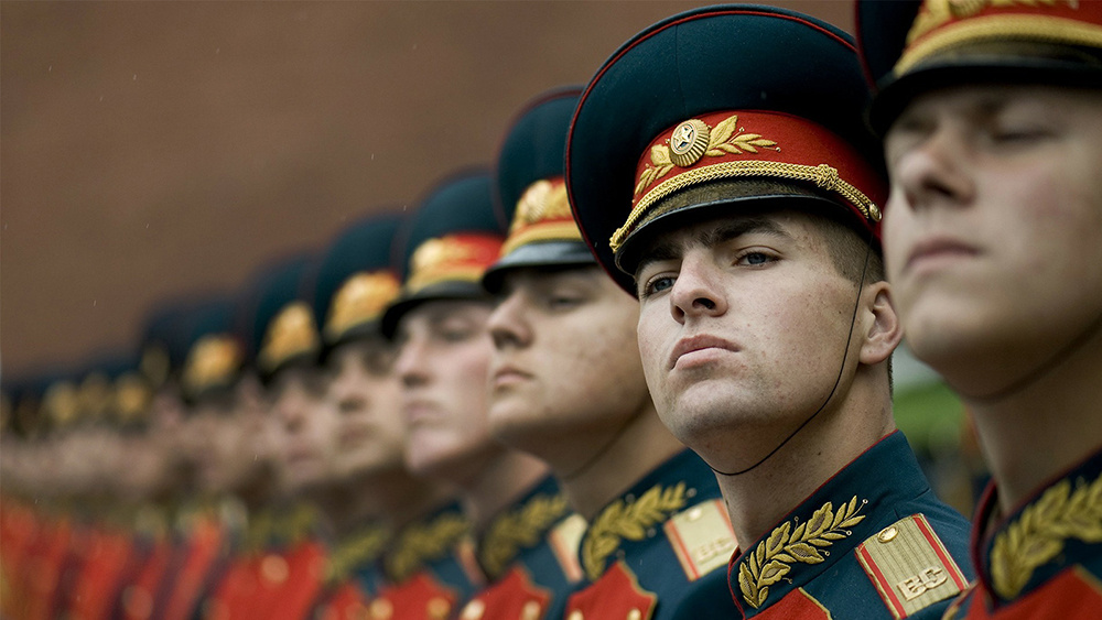 Russian Guard Soldiers