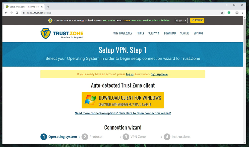 Trust.Zone VPN - Supported Platforms