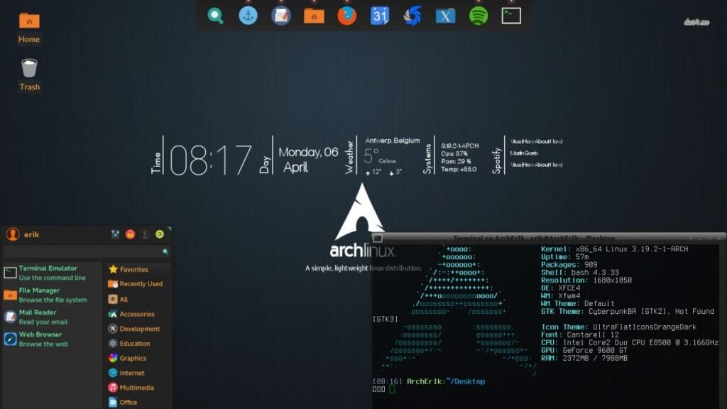 Windows Alternatives - Arch Linux