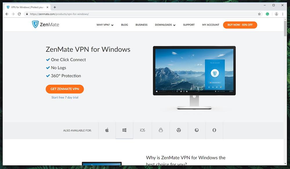 Zenmate VPN - Supported Platforms