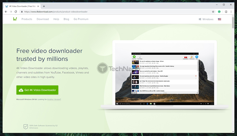 4K Video Downloader Official Website