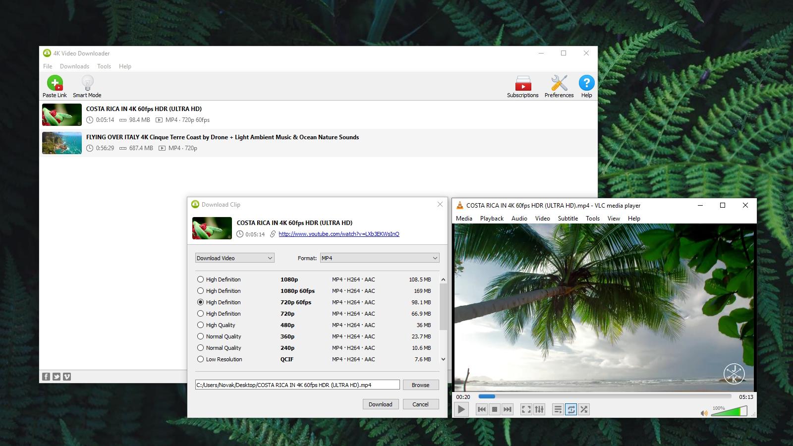 4k video downloader error cant download