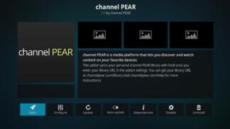 Channel Pear Kodi Addon