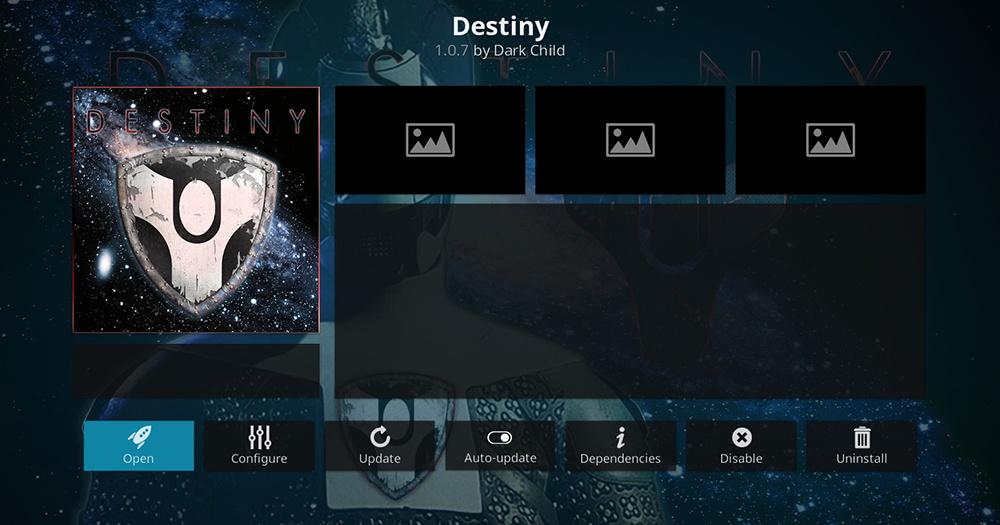 Destiny Kodi Addon