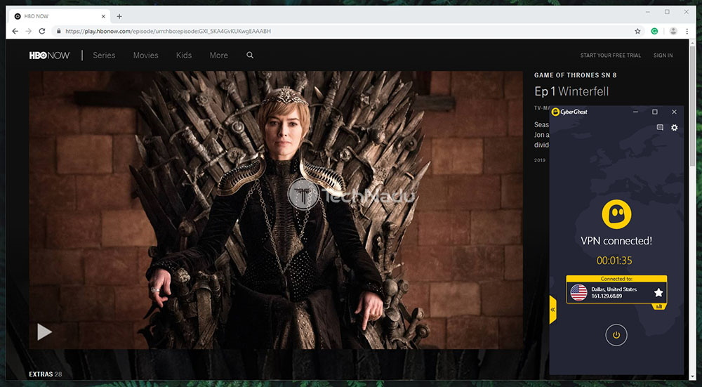 How to Watch HBO NOW Outside the US in 3 Steps - TechNadu