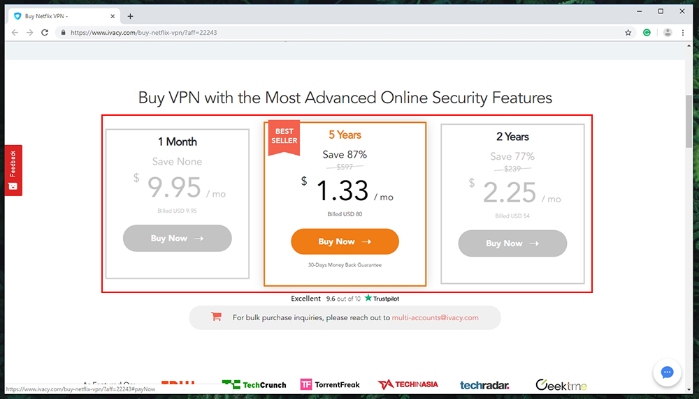Get The #1 Rated & Fastest VPN With 20% Off On All Plans