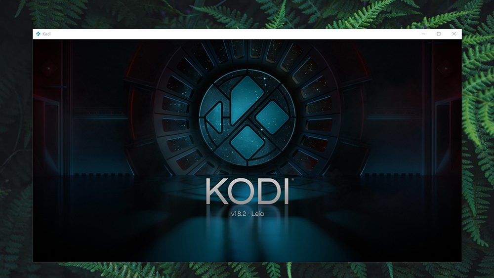 Kodi 18.2 Splashscreen