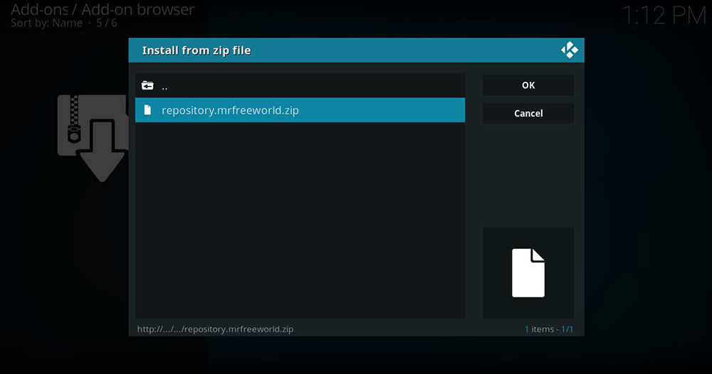 Mr Freeworld Kodi Repository