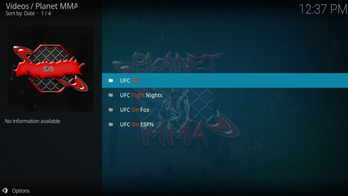 10 Easy Steps to Install Planet MMA Kodi Addon in 2019 (with Pictures)