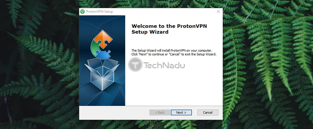 ProtonVPN Installation Wizard