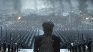 Daenerys looks upon her army