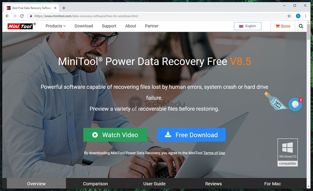 Link to MiniTool Power Data Recovery Website